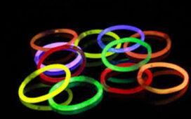 Glowsicks, självlysande armband,glasögon,bunny ears till discokalaset
