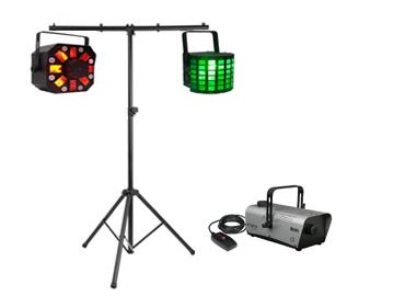 Hyr discolampor och rökmaskin på discokalas.se