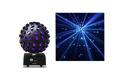Hyr discoljus ljuspaket mini till kalaset, snyggt och enkelt att installera.